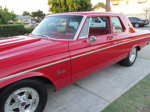 MY Personal '64 Plymouth Belvedere  752 HORSE