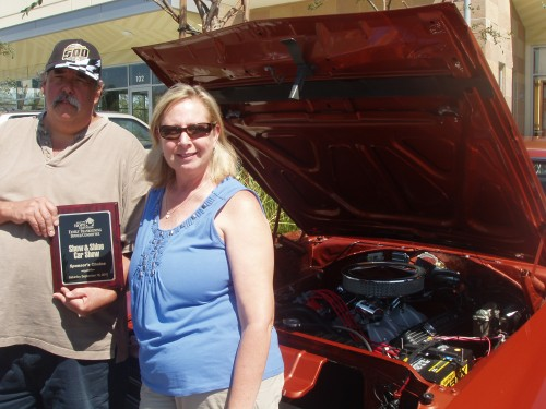 Ken & Mary w/ their '70 Charger R/T 440 Big Block