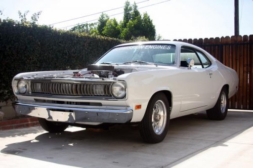 Adam's 1971 Duster!!